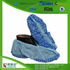 custom printed nonwoven blue pp disposable surgical shoe cover