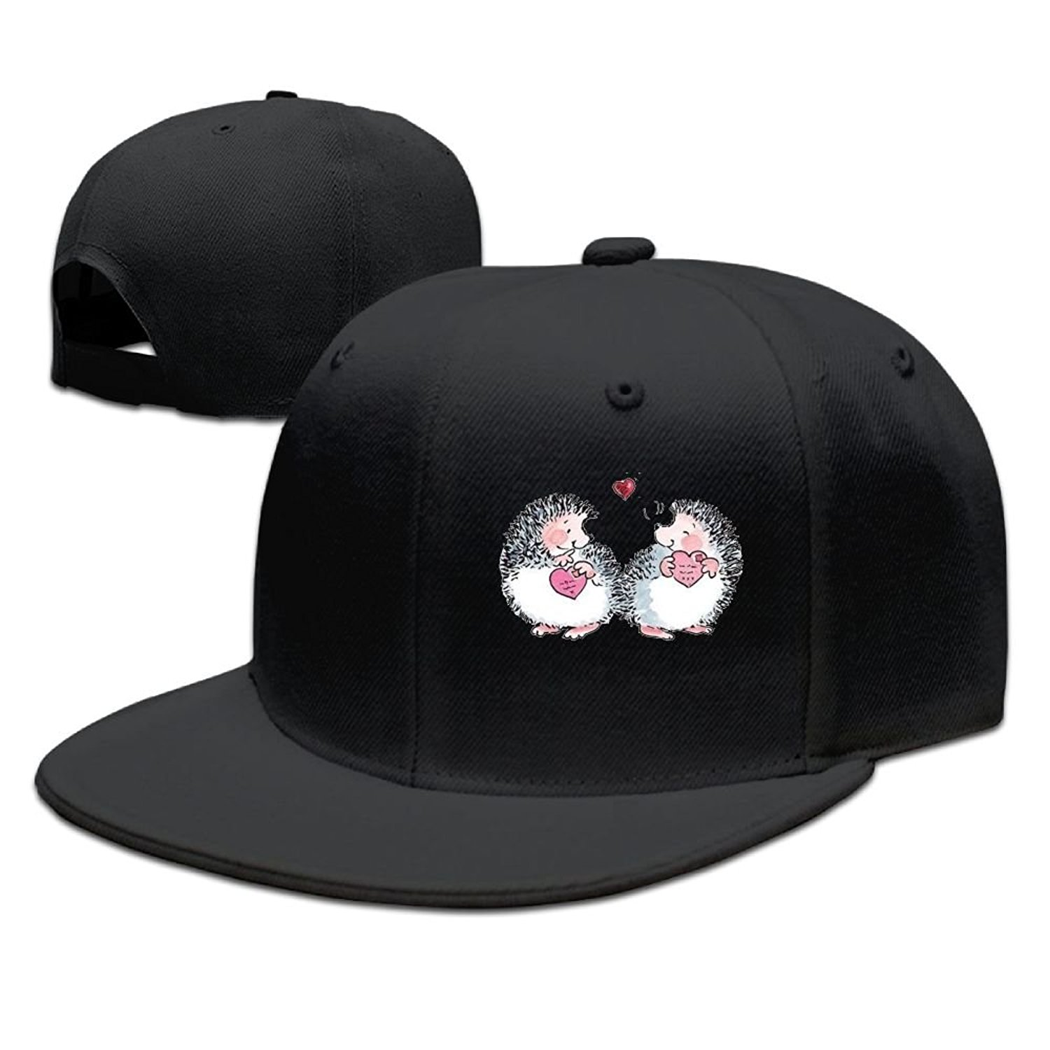 Get Quotations · JRYJN Mens Personalized Snapback Hats Baseball Caps  Hedgehog Hugs Fitted Hats 1810419876d