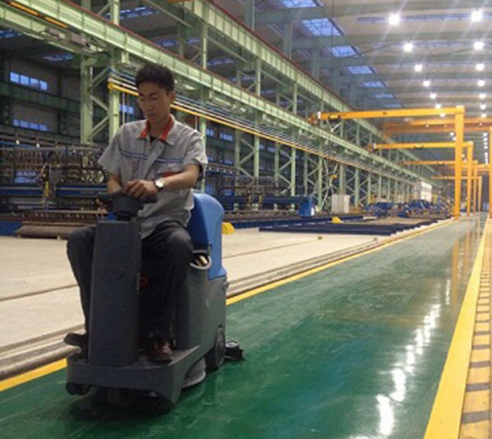 Factory Manufacturer Of Ground Floor Cleaning Machine