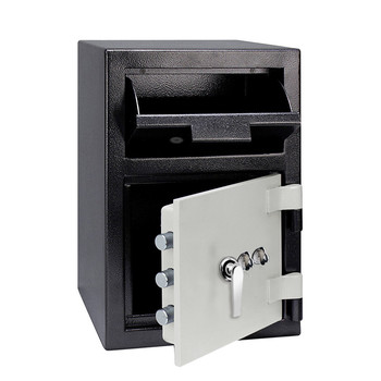 Heavy Duty Electronic Lock Outer Combination Drop Box Large Front Loading Depository Safes Money Locker