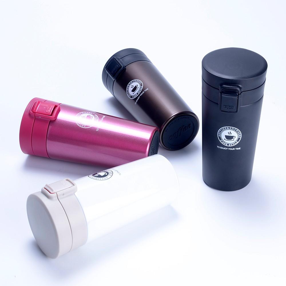 Double Wall Vacuum Insulated 18/8 Stainless Steel Travel Tumbler Coffee/Tea Mug with Leak Proof Locking Lid фото
