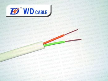 factory: cat3 2 wire rj11 telephone cable/telephone wire