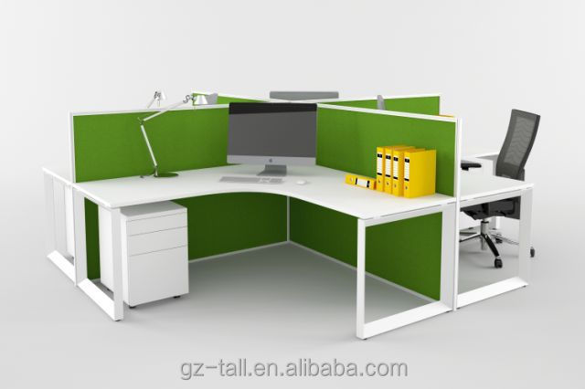 Best selling custom made soundproof office partition for Muebles de oficina hot sale