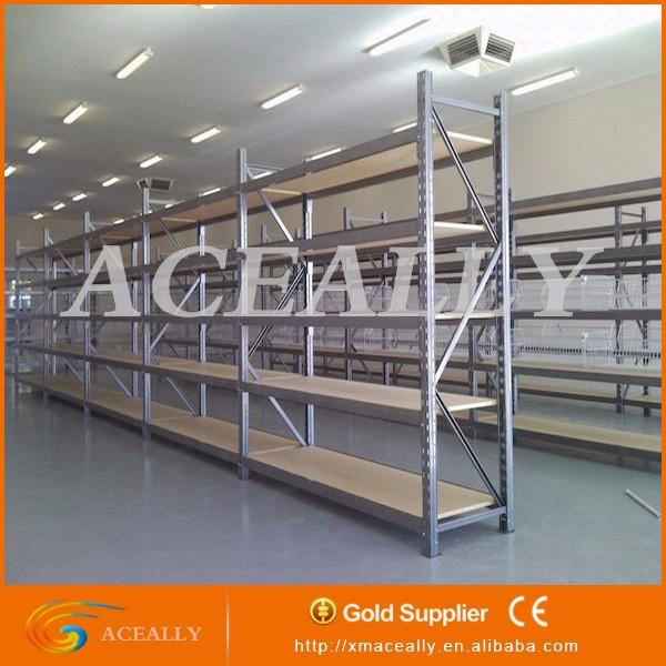 Warehouse racks steel frame layout long span stacking for Frame storage system