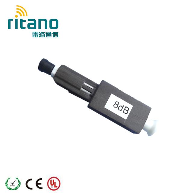 LC 5dB hembra a macho atenuador óptico Sm Conector Rápido Acoplador de fibra