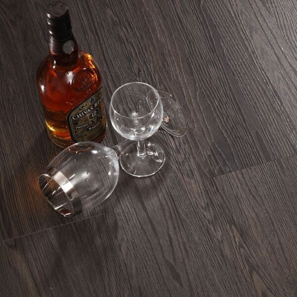 Indoor usage darker color plastic wood texture 2.0mm thickness pvc flooring plank