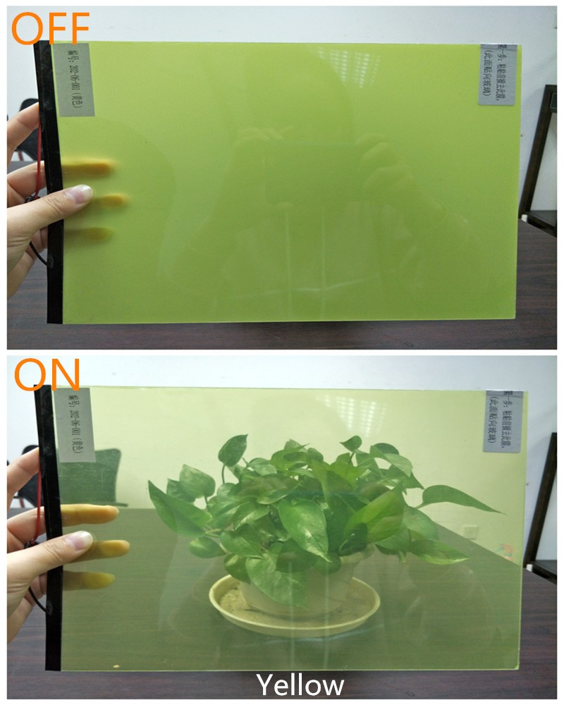 China factory new style UCEF smart glass security bulletproof window film