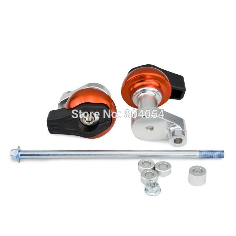 Оранжевый чпу заготовка рамки слайдер двигателя протектор для KTM 200 герцог 2012 - 2013