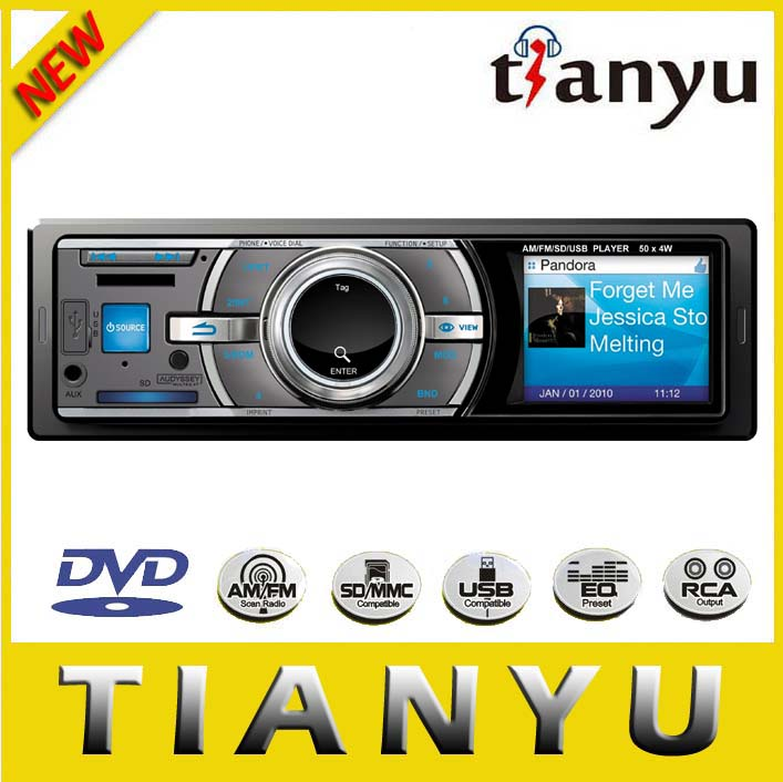 1 din car radio fm sd Car MP3 player with ID3.