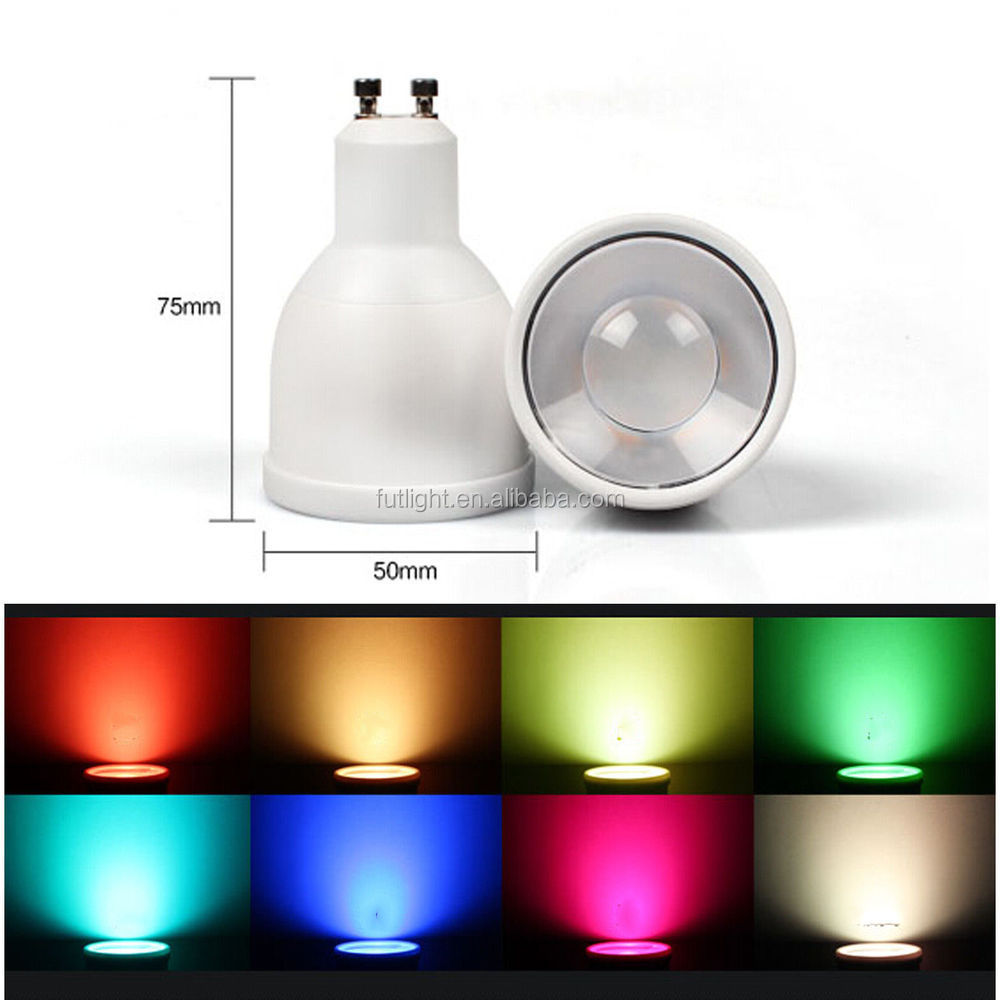 Quality Warranty Color Changing Brightness Dimmable Rgbw 4w Gu10 ...