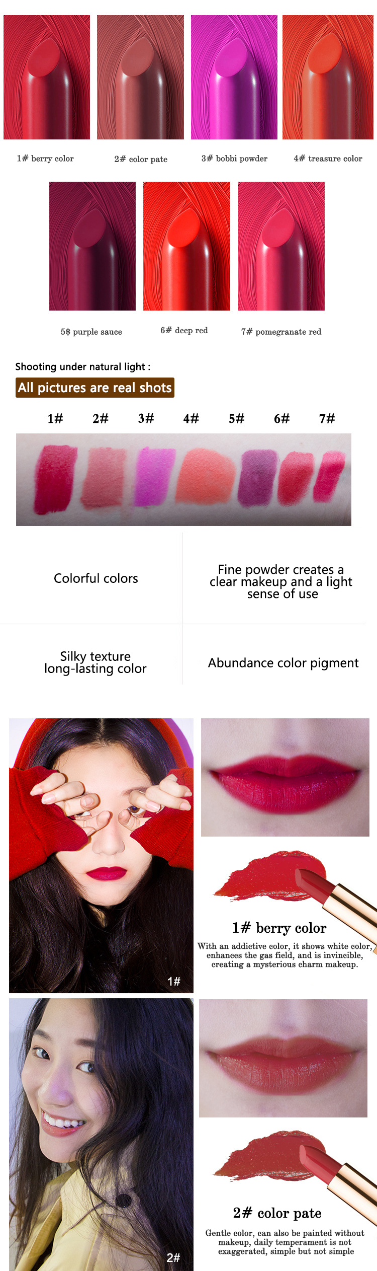 KAXIER Beauty Makeup Long Lasting Magic Color Change Velvet Nude Matte Lipstick