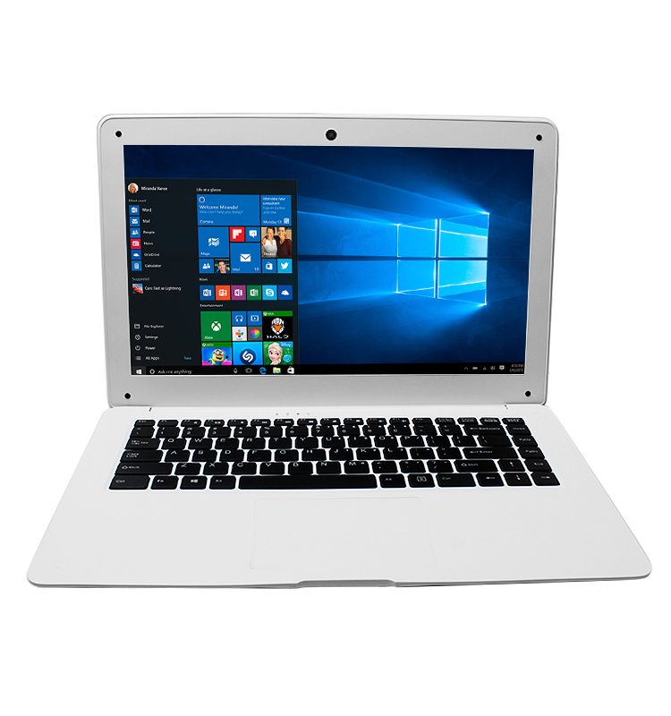 High quality 14.1 inch computers laptops low price Win10 mini laptop super slim laptop