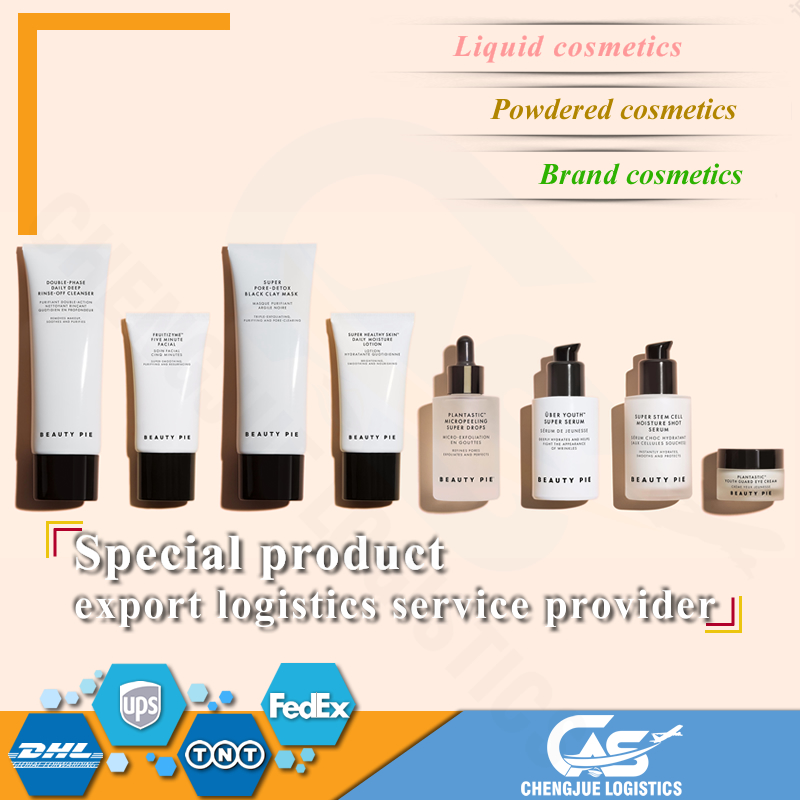 <strong>Express</strong>/air shipping cosmetics from China to United States liquid/powder products acceptable