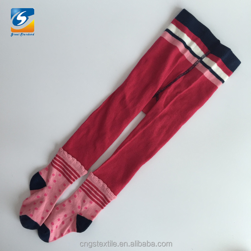 Bayi perempuan cotton colorful fancy tights