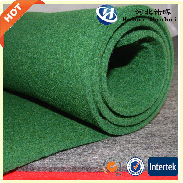 Nonwoven felt fabric from Polyester , Polypropylene