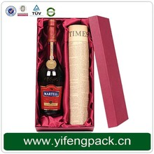 rectangle wine gift design printing decorative christmas gift boxes