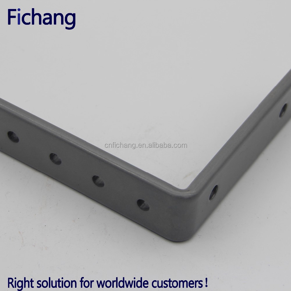 High quality sheet metal parts angle iron corner bracket
