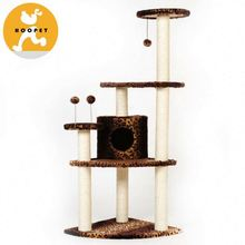Lovable premium cat bed scratching post
