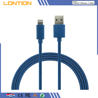 Factory Customized Logo Light Fast Charge 8Pin charger For Apple iPhone 6 USB SYNC Data Charging Cable