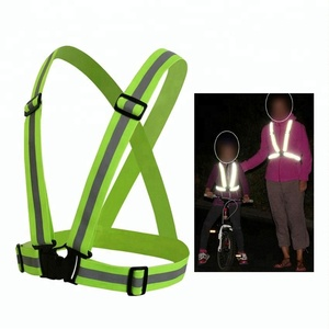 factory cheap good quality reflective jogging vest running vest / security reflective wear