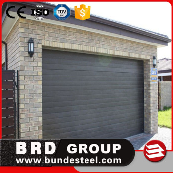 Automatic Color Steel PU Sandwich Panel Insulated Garage Door