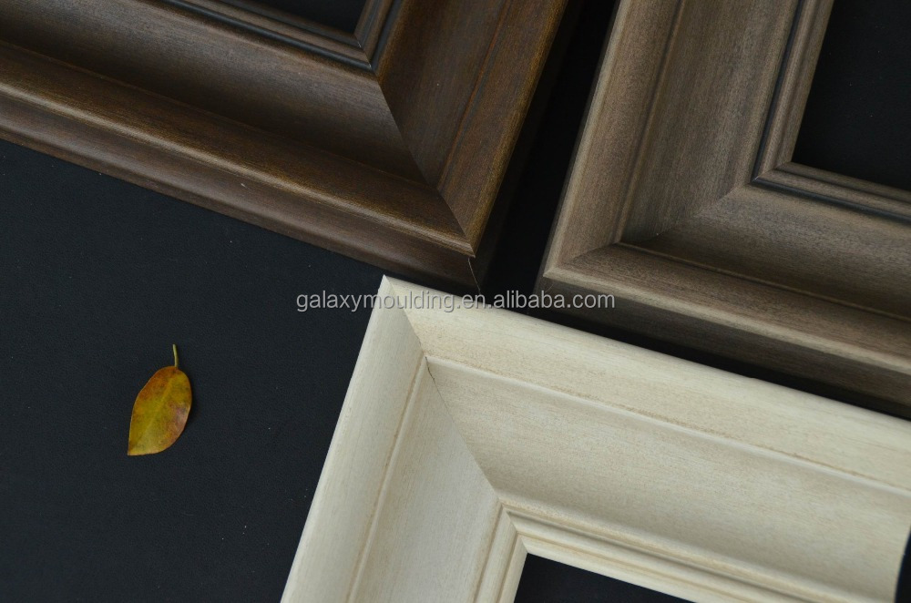 New arrival woodlike PS mouldings for picture frame