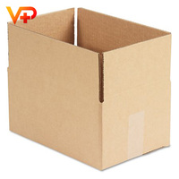 General Supply Brown Corrugated Fixed-Depth Mail Order Packaging Shipping Box