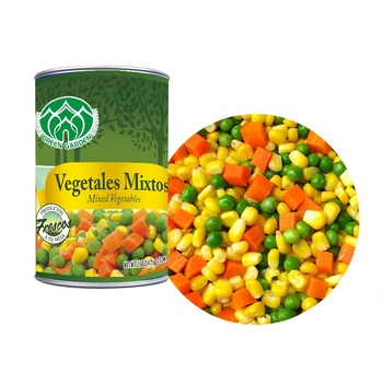 400G canned mixed vegetables mixed green peas,carrots,potatoes, sweet corn