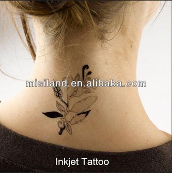 A4 size diy inkjet tattoo paper sticker 220um for inkjet for Diy tattoo transfer paper