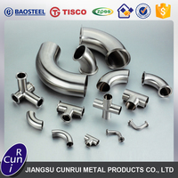 Best quality different types precision Stainless Steel Pipe Fitting for sale