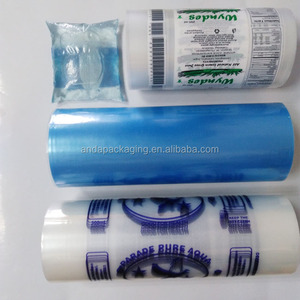 Heat seal PE water sachet film in roll with printing/Drink water sachet package/drinking water bag