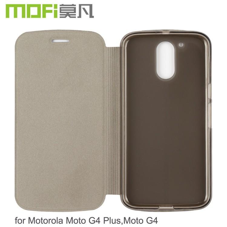 half off 1596a 1da99 Mofi Original Celulares Flip Cover Case For Motorola Moto G4,Phone Leather  Cover Housing For Moto G4 Plus - Buy Leather Cover For Moto G4 Plus,Flip ...
