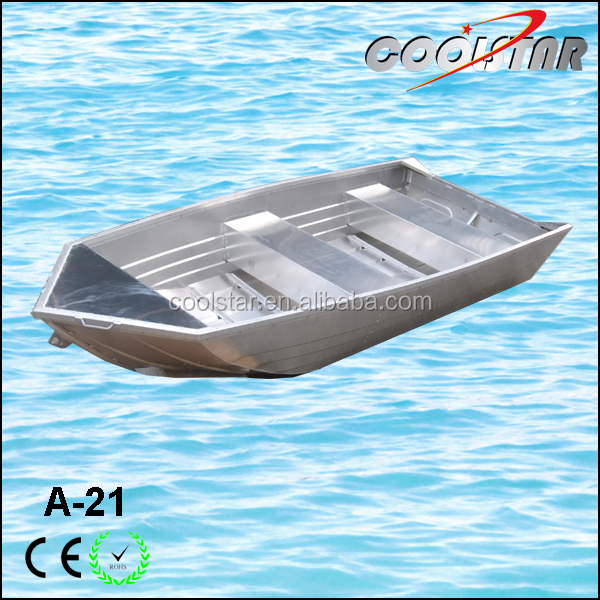 the best-selling v head flat bottom 21ft aluminum Panfish boat