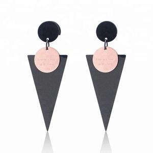 Body Jewelry Luxury Women Fashion Drop Gold Tassel Earrings For Women Christmas Flowers Designs