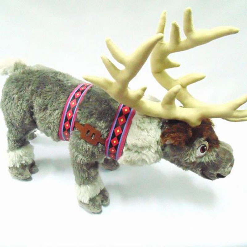 New Kids Plush Doll 48cm Stuffed Movie Toy Animal Deer Sven Children Toys Stuffed Animals & Plush Brinquedos Kids Toys 104