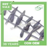 Factory sell quartz bar beads lavender raw quartz crystal