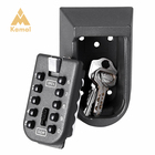 Outdoor Wall Mounted Key Safe Box With 10 Digital Code Combination Safe Key Lock Box Case Storage Hide Keys for Gate Real Estate