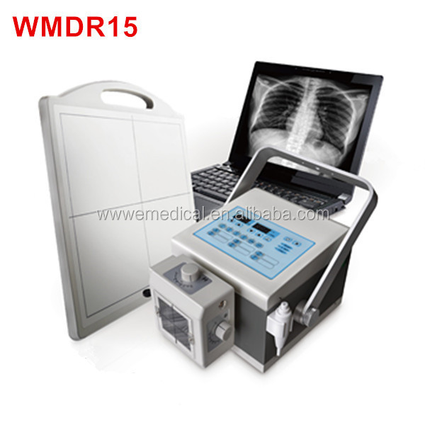 WMDR15 portable x ray machine x ray machine Medical mobile veterinary digital thermometer DR X-ray equipment