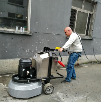 Gear Driven Planetary Concrete Grinder Floor Polisher For