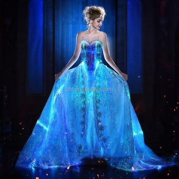 Glow In The Dark Formal Dress