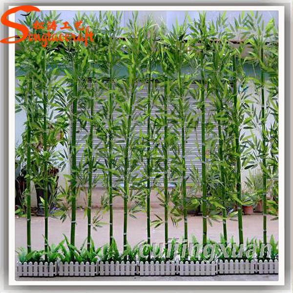Int rieur ext rieur hall de l 39 h tel d coration bambou - Bambou artificiel exterieur ...