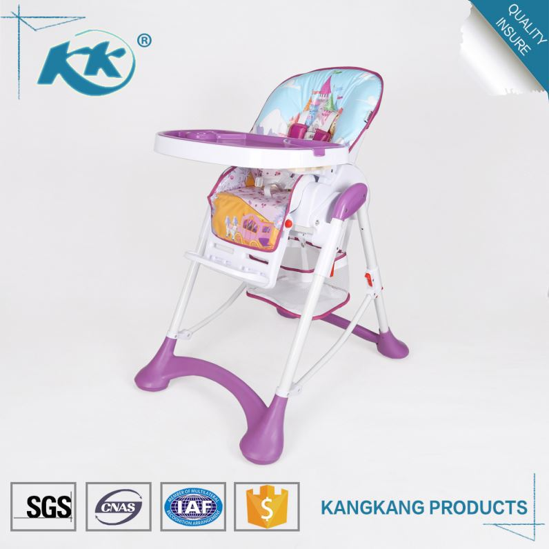 Custom service available competitive price wholesale plastic 3 in 1 child eating feeding kid baby chair belt