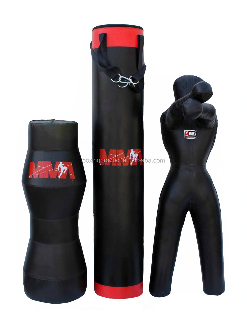 Muay Thai Heavy Bags / Boxing Punching Bags / PU Leather Kick Boxing Bags