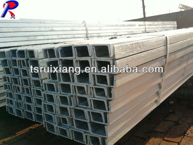 high quality channel steel/c-type steel channel