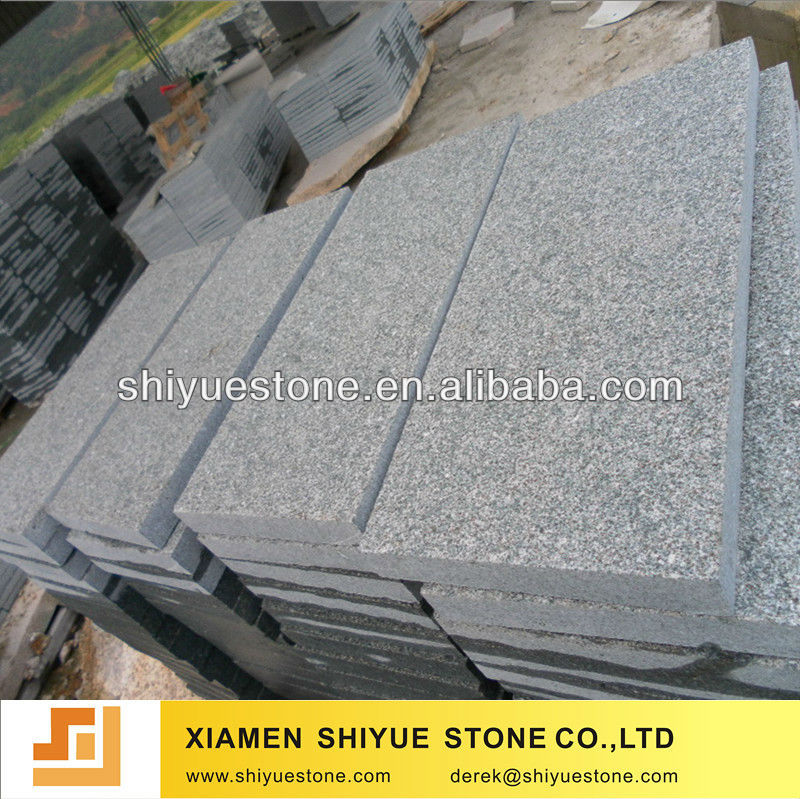 flamed g612 granite tile(reasonable price)