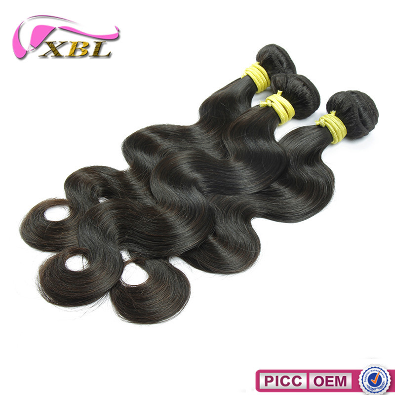 Hotselling body wave virgin Indian humanhair wefts