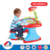 Durable educational functional projector kids learning table with table lamp