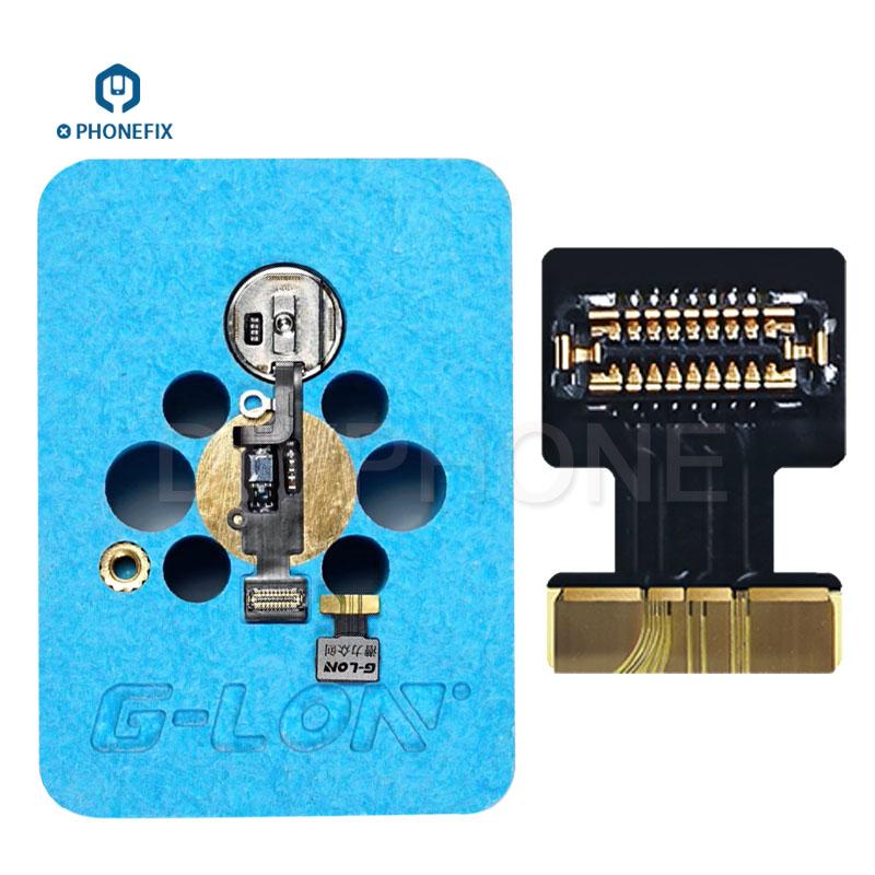 G-Lon iMesa Touch ID Fingerprint Repair Platform with Flex Cable for fixing iPhone 7 7plus 8 8plus Home Return Button Failure