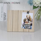 Laser Marking 5x7 Natural Wooden Funia Photo Frame With Clamp Simple Design Hot Girls Picture
