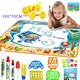 Aqua Magic Water Doodle Mat Large Educational Kids Water Drawing Mats Pad for Kids Toys Toddler Painting Board